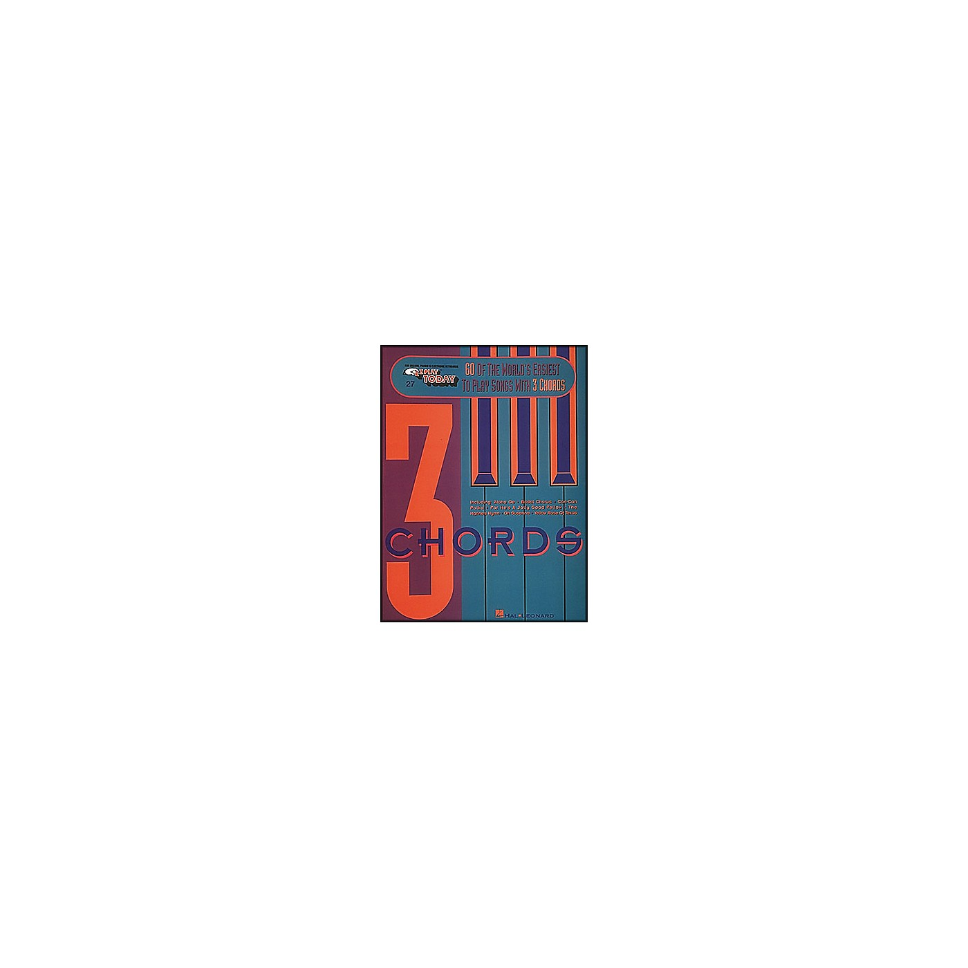 Hal Leonard 60 Of The World's Easiest To Play Songs with 3 Chords E-Z Play 27 thumbnail