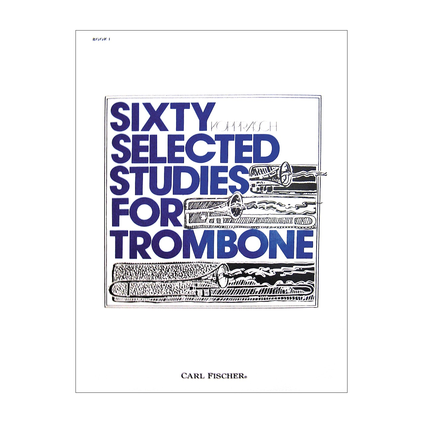 Carl Fischer 60 Selected Studies for Trombone thumbnail