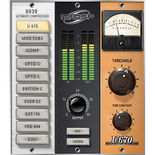 McDSP 6030 Ultimate Compressor HD v6 (Software Download) thumbnail