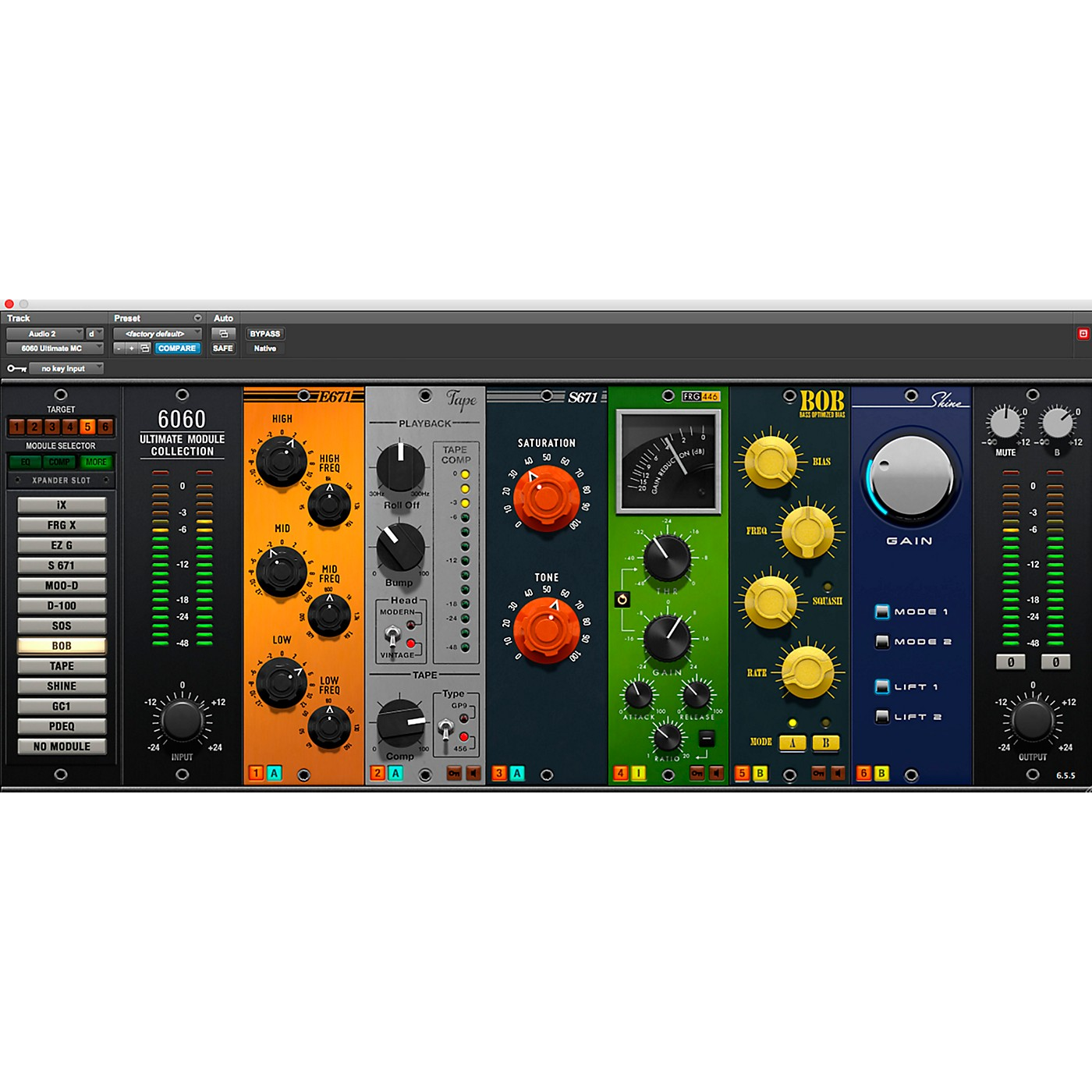 McDSP 6060 Ultimate Module Collection HD v6 thumbnail