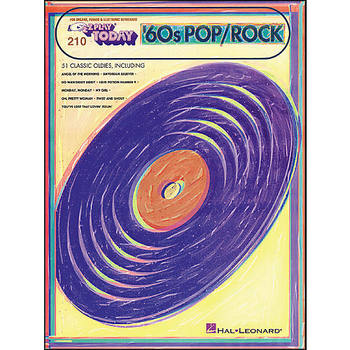 Hal Leonard 60's Pop Rock Hits E-Z Play 210 thumbnail