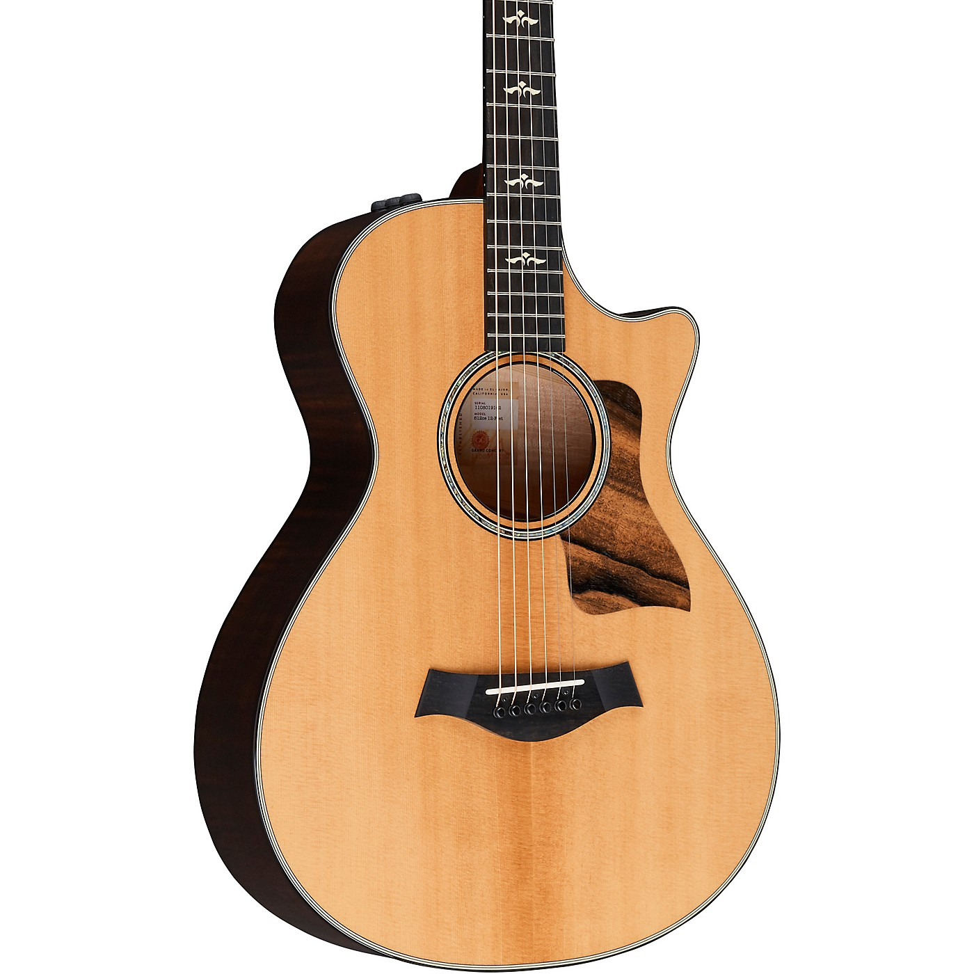 Taylor 612ce V-Class 12-Fret Grand Concert Acoustic-Electric Guitar thumbnail