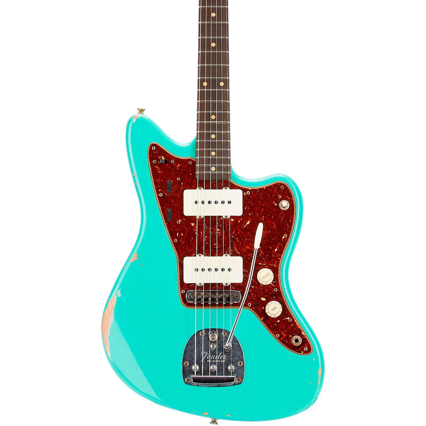Fender Custom Shop 62 Jazzmaster Relic Rosewood Fingerboard Electric Guitar thumbnail