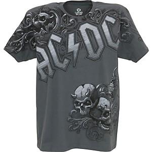 AC/DC AC/DC Night Prowler T-Shirt Gray Medium