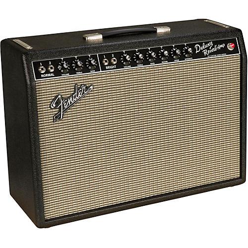 Fender '64 Custom Deluxe Reverb 20W 1x12 Tube Guitar Combo Amp thumbnail