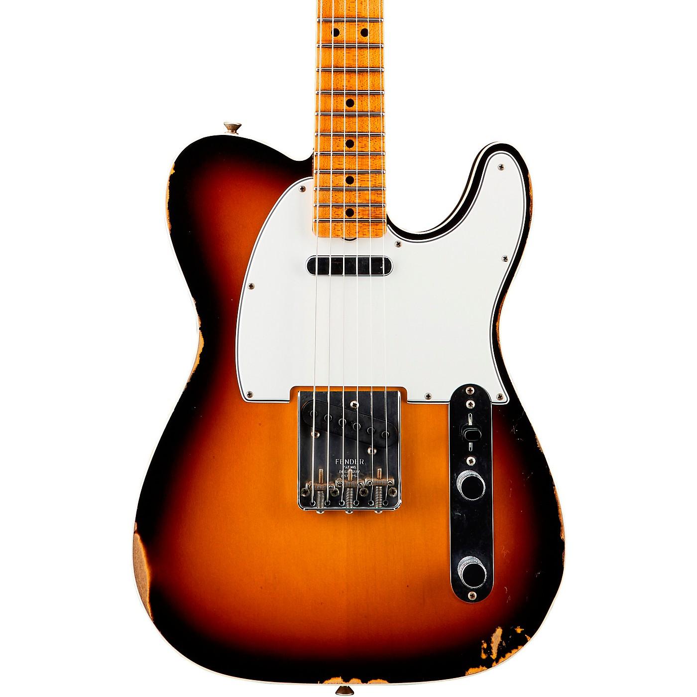 Fender Custom Shop '65 Custom Relic Telecaster Maple Fingerboard Electric Guitar thumbnail