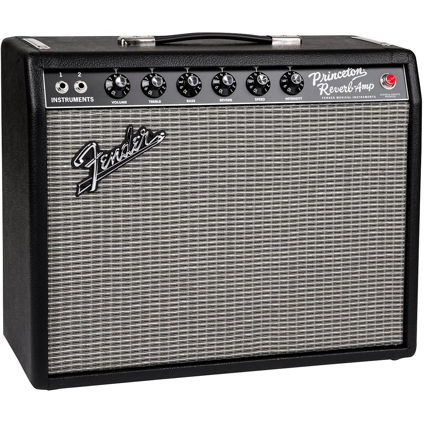 Fender '65 Princeton Reverb 12W 1x10 Tube Guitar Combo Amp thumbnail