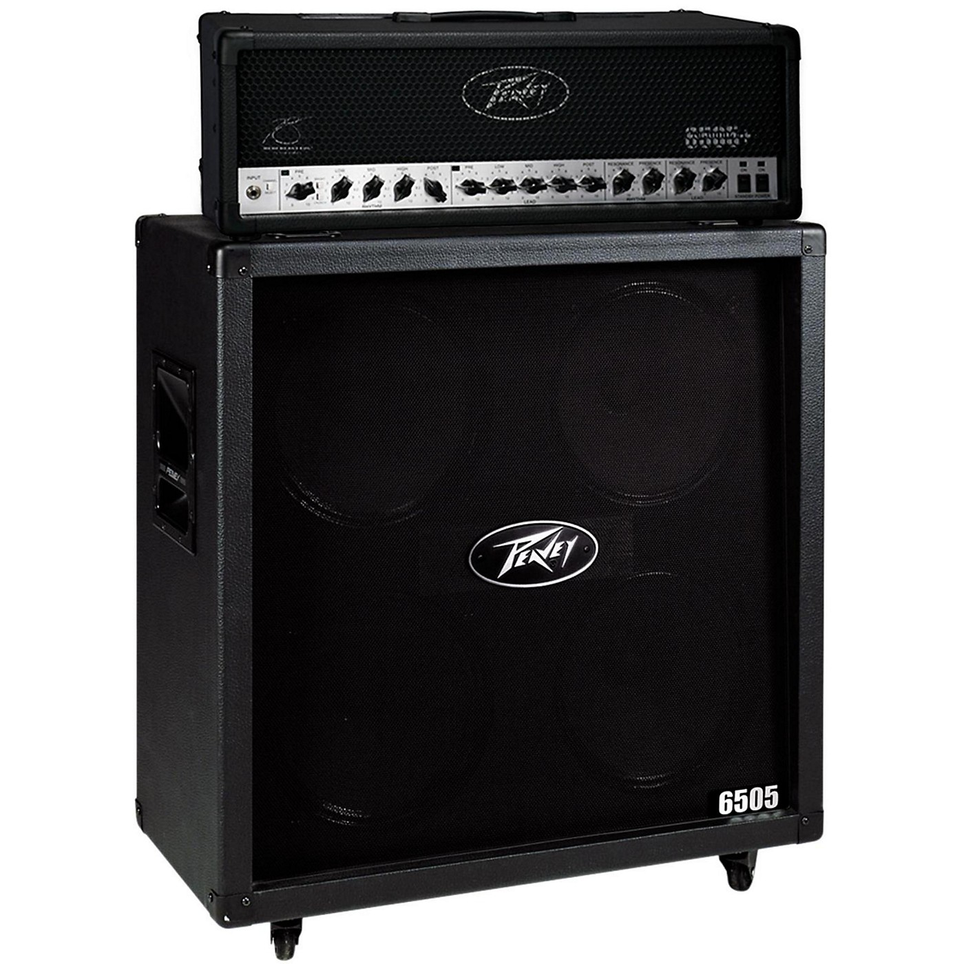 Peavey 6505+ 120W Guitar Head with 6505 4x12 2400W Cabinet thumbnail