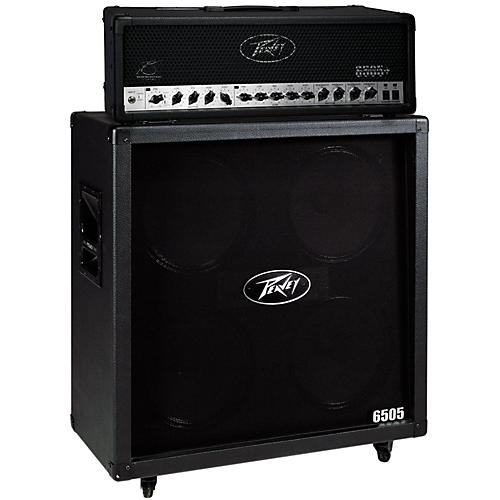 Peavey 6505+ 120W Guitar Head with 6505 4x12 300W Cabinet thumbnail