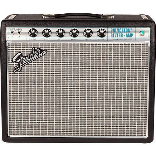 Fender '68 Custom Princeton Reverb 12W 1x10 Tube Guitar Combo Amp with Celestion Ten 30 Speaker thumbnail