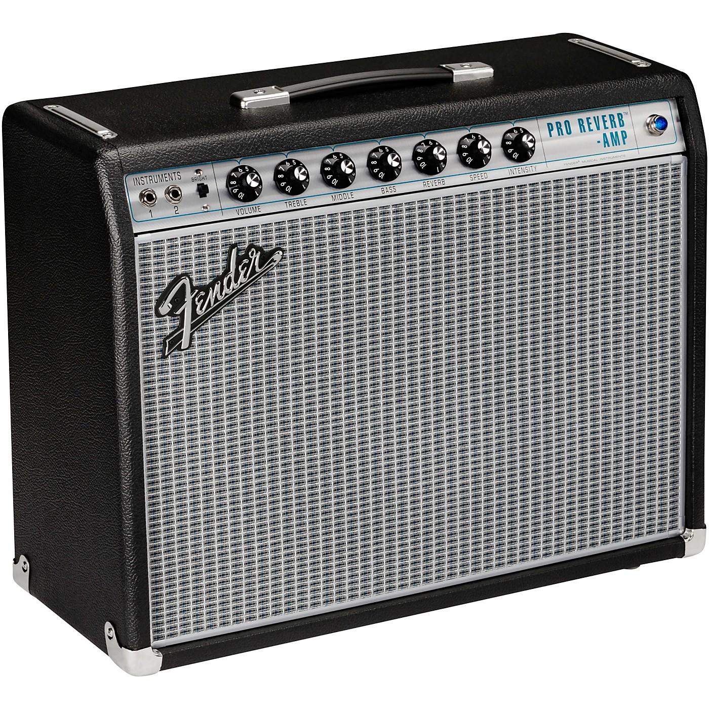 Fender 68 Custom Pro Reverb 40W 1x12 Guitar Combo Amp thumbnail