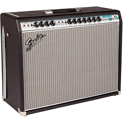 Fender '68 Custom Twin Reverb 85W 2x12 Tube Guitar Combo Amp with Celestion G12V-70s Speaker thumbnail