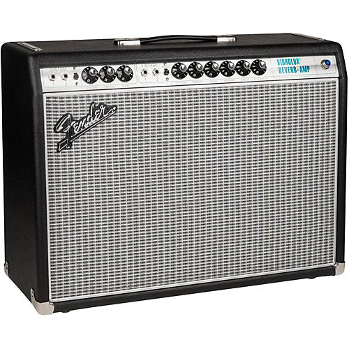 Fender '68 Custom Vibrolux Reverb Guitar Combo Amplifier thumbnail