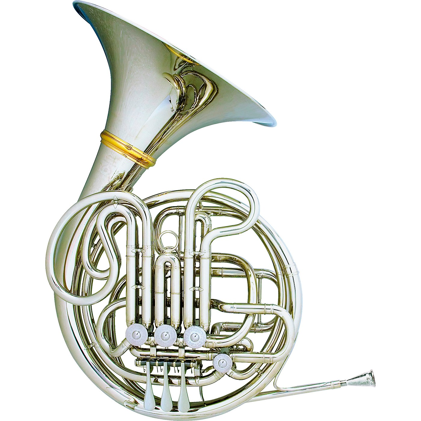 Hans Hoyer 6801NSA-L Nickel Silver Heritage Double Horn thumbnail
