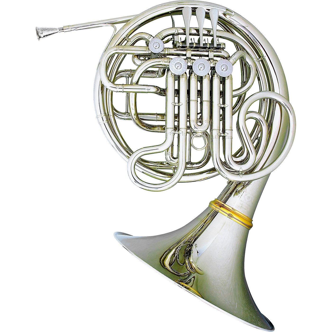 Hans Hoyer 6802NSA Heritage Kruspe Style Series Double Horn with String Linkage and Detachable Bell thumbnail