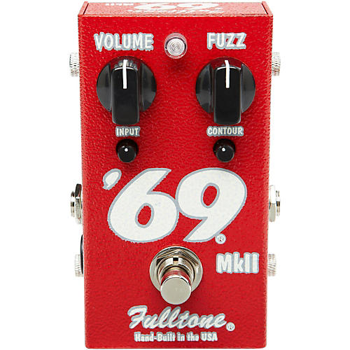 Fulltone '69 MkII Fuzz Guitar Effects Pedal-thumbnail