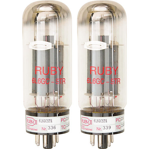 Ruby 6L6GCMSTR Matched Amp Tubes thumbnail