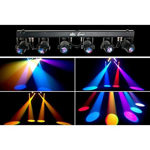 CHAUVET DJ 6SPOT LED Spot Lighting System thumbnail