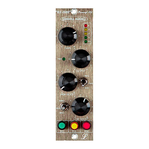 Lindell Audio 6X-500 500-Series Microphone Preamp and EQ thumbnail