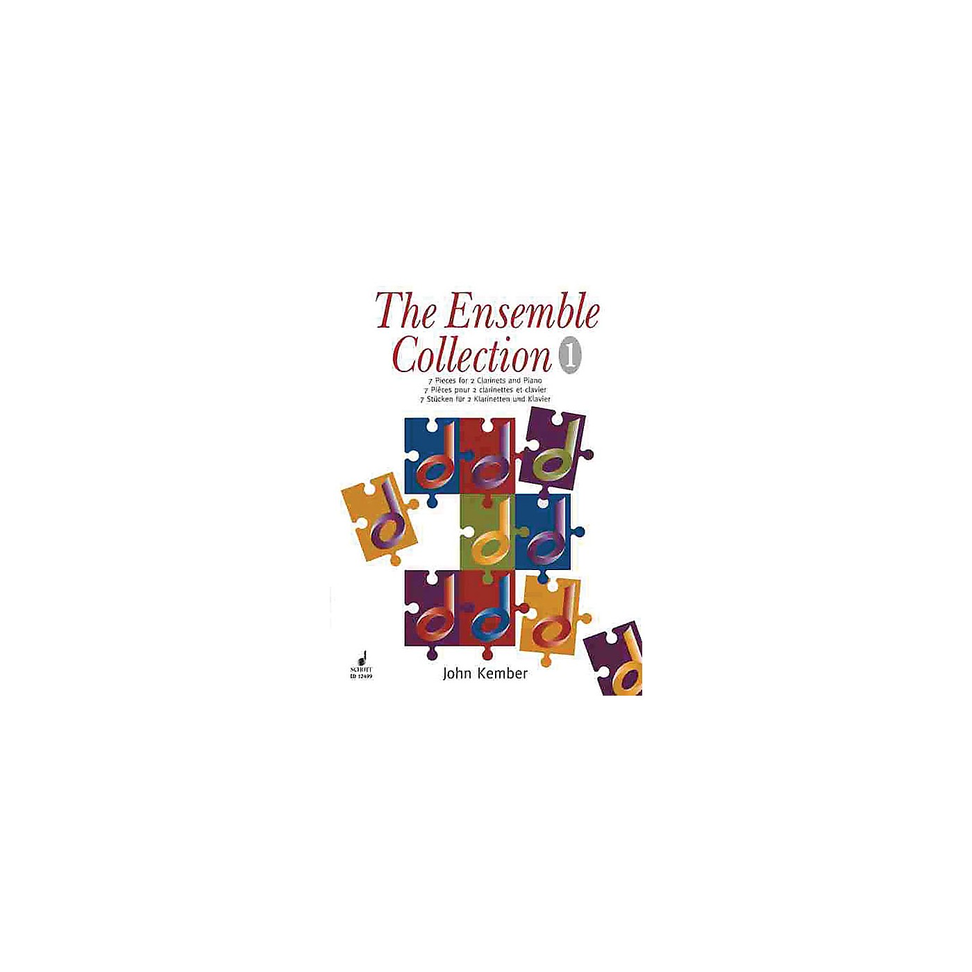 Schott 7 Pieces (The Ensemble Collection) Schott Series Composed by John Kember thumbnail