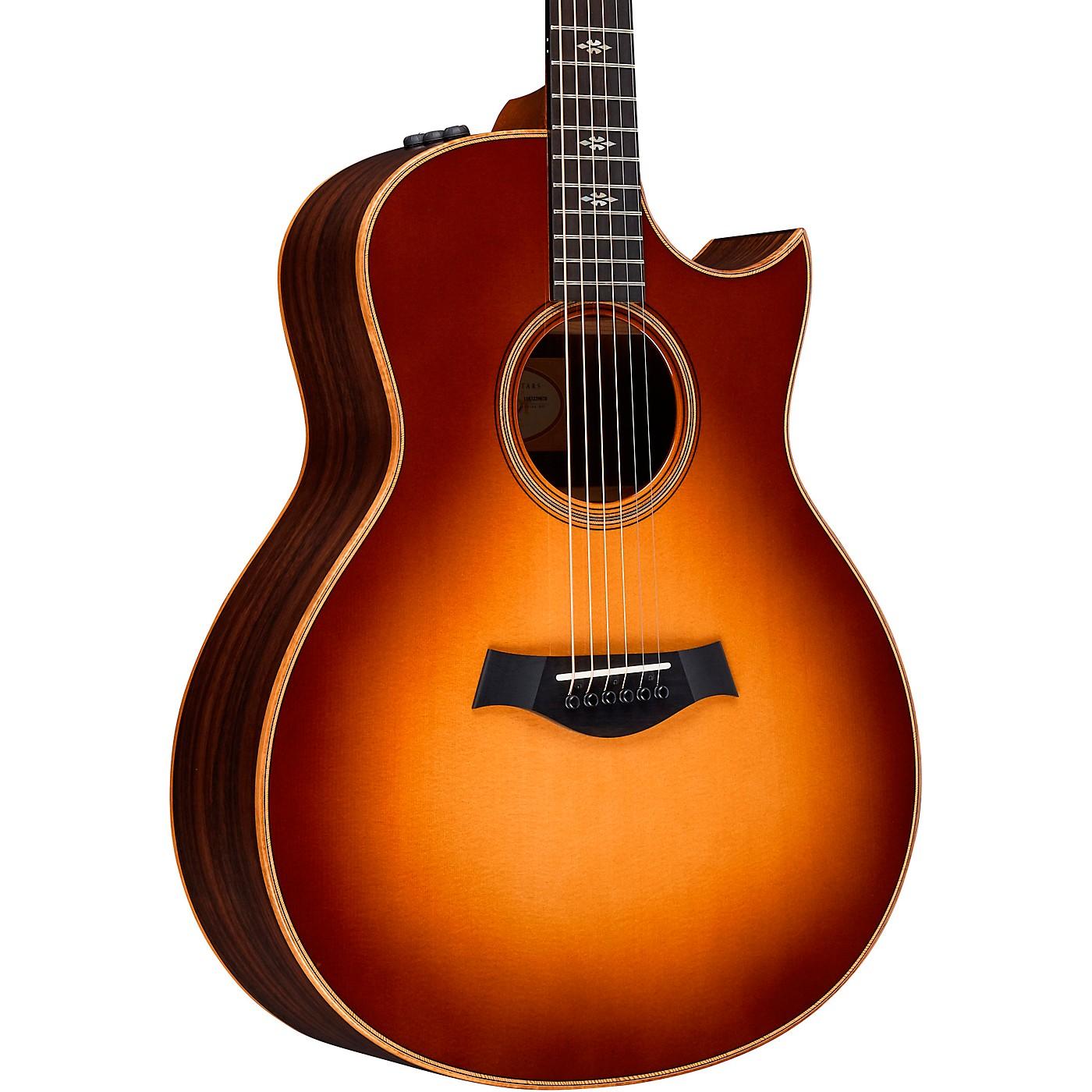 Taylor 700 Series 716ce-WSB-Flor-NoPG Grand Symphony Acoustic-Electric Guitar thumbnail