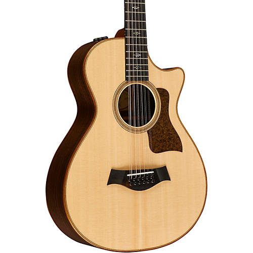 Taylor 700 Series Limited Edition 752ce 12-Fret 12-String Grand Concert Acoustic-Electric Guitar thumbnail