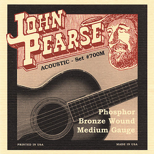 John Pearse 700M Bronze Acoustic Guitar Strings thumbnail