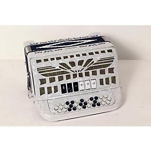 SofiaMari SMTT-3412, Two Tone Accordion White Pearl 888365503769