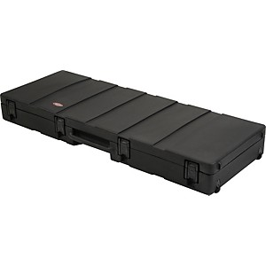 SKB 1SKB-R6020W Roto Molded 88-Note Keyboard Case Black