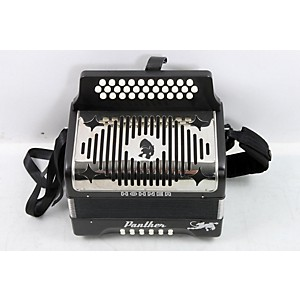 Hohner HA-3100 Panther GCF Diatonic Accordion Matte Black 888365525846