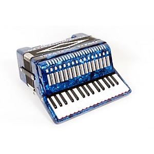 SofiaMari SM-3232 32 Piano 32 Bass Accordion Dark Blue Pearl 888365459332