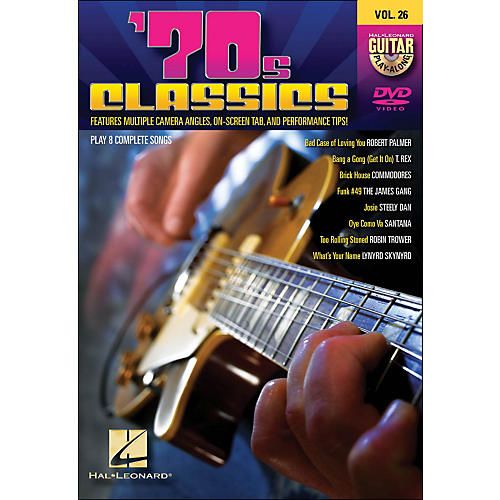 Hal Leonard 70s Classics - Guitar Play-Along DVD Volume 26 thumbnail