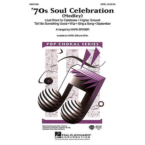 Hal Leonard 70s Soul Celebration (Medley) 2-Part Arranged by Mark Brymer thumbnail