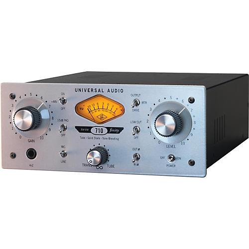 Universal Audio 710 Twin-Finity Mic Pre & DI Box thumbnail