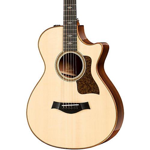 Taylor 712ce V-Class 12-Fret Grand Concert Acoustic-Electric Guitar thumbnail