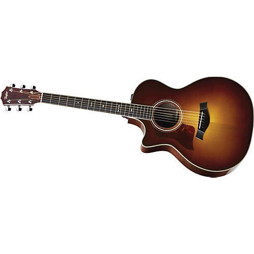 Taylor 714ce-L Rosewood/Spruce Grand Auditorium Left-Handed Acoustic-Electric Guitar thumbnail