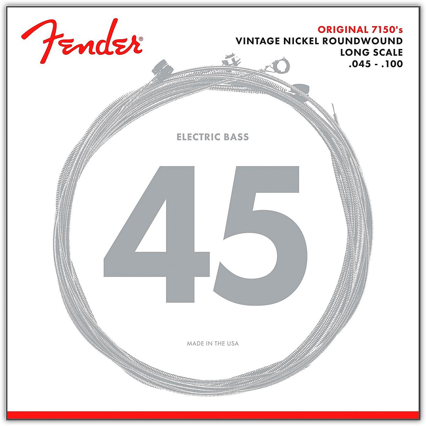 Fender 7150ML Pure Nickel Long Scale Bass Strings - Medium Light thumbnail