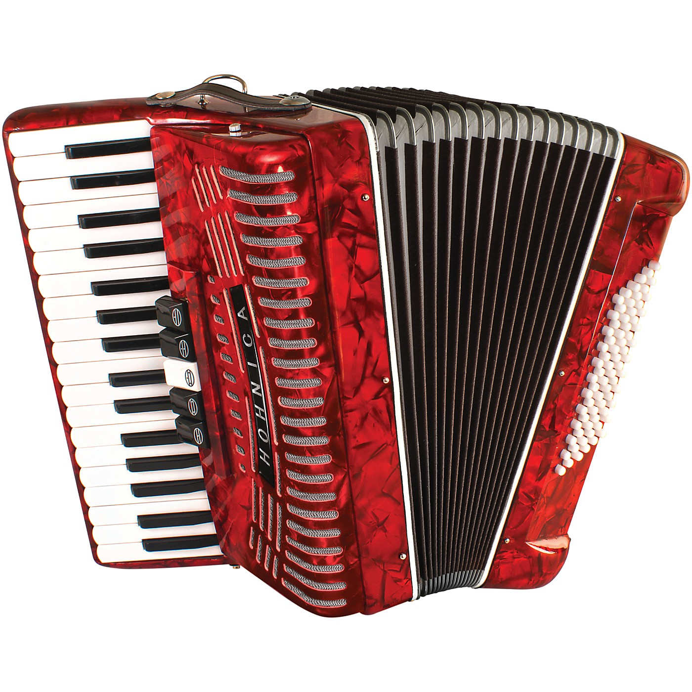Hohner 72 Bass Entry Level Piano Accordion thumbnail