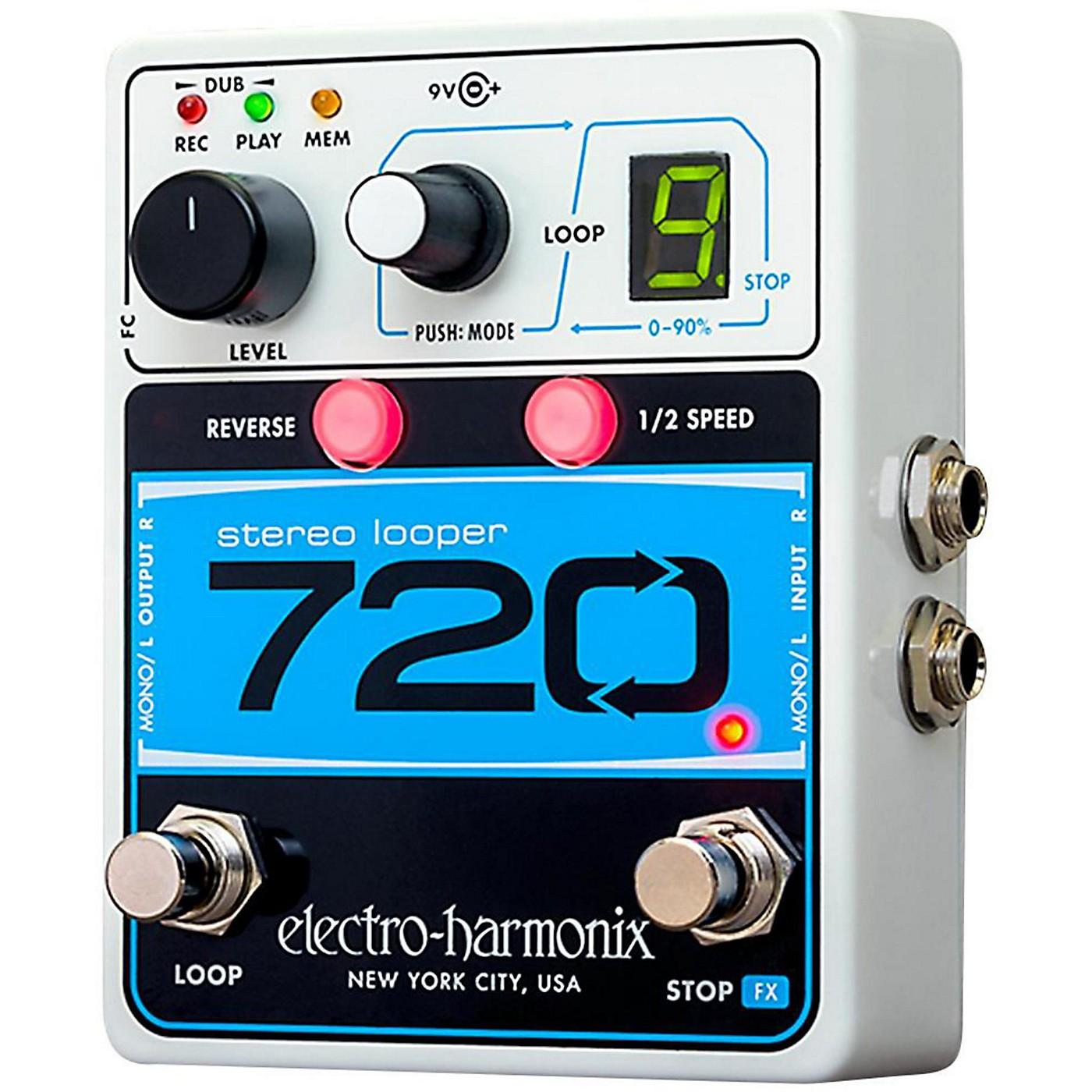 Electro-Harmonix 720 Stereo Looper Pedal thumbnail