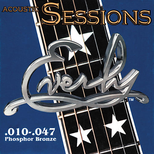 Everly 7210 Acoustic Sessions Phosphor/Bronze Extra Light Acoustic Guitar Strings-thumbnail
