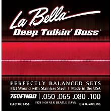 LaBella 760FHBB Beatle Bass Flat Wound Standard Electric Bass Strings