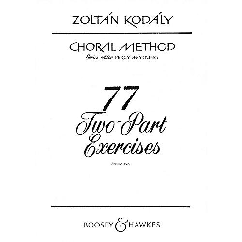 Boosey and Hawkes 77 Two-Part Exercises 2-Part Composed by Zoltán Kodály thumbnail