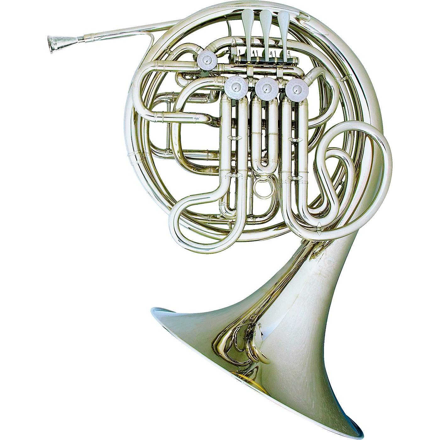 Hans Hoyer 7801 Nickel Double French Horn thumbnail