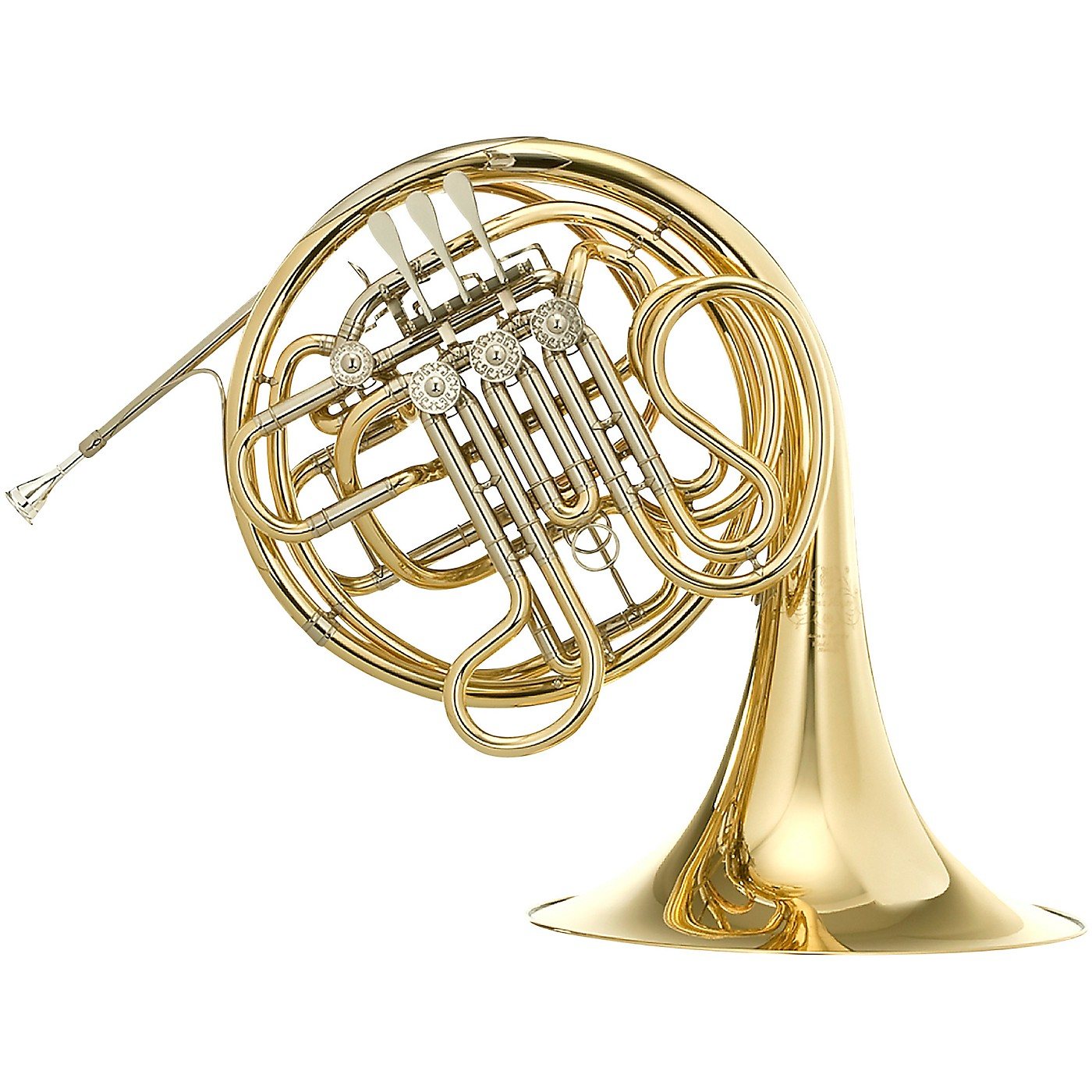 Hans Hoyer 7802 Heritage Kruspe Style Series Double Horn with String Linkage and Fixed Bell thumbnail
