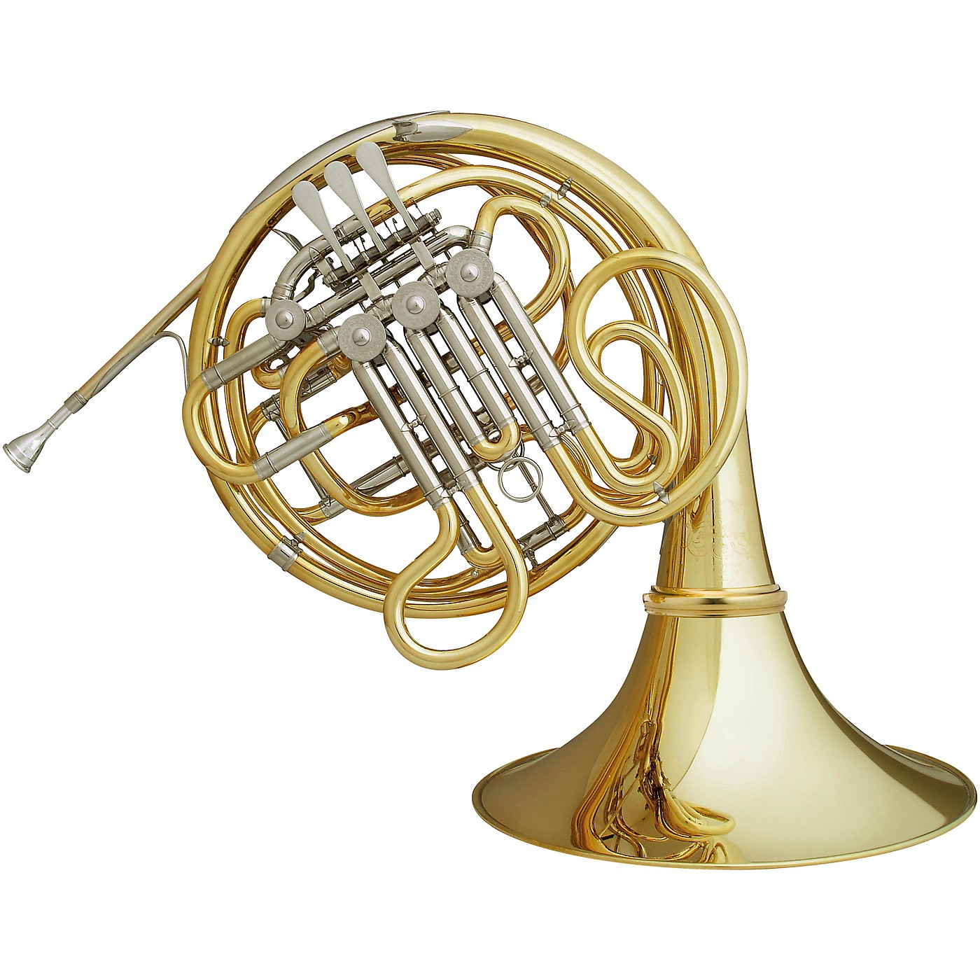 Hans Hoyer 7802A Heritage Kruspe Style Series Double Horn with String Linkage and Detachable Bell thumbnail