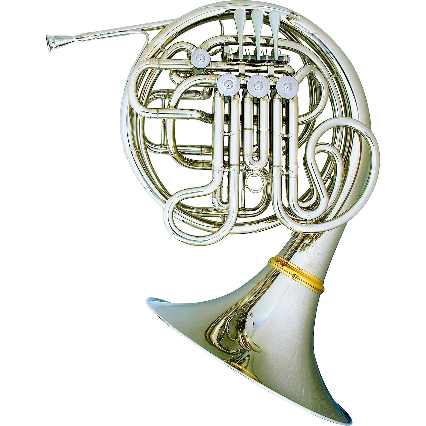 Hans Hoyer 7802NSA Heritage Kruspe Style Series Double Horn with String Linkage and Detachable Bell thumbnail