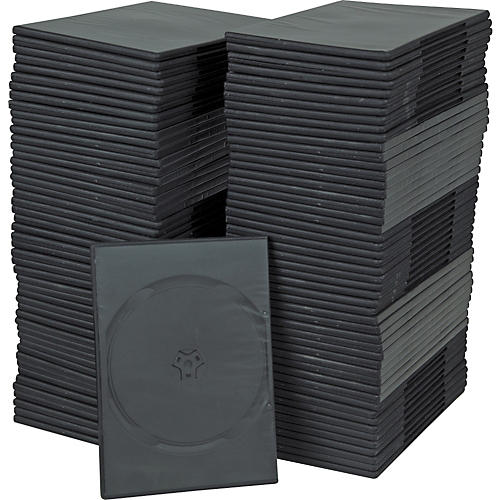 BK Media 7mm Slim DVD Cases 100-pack thumbnail