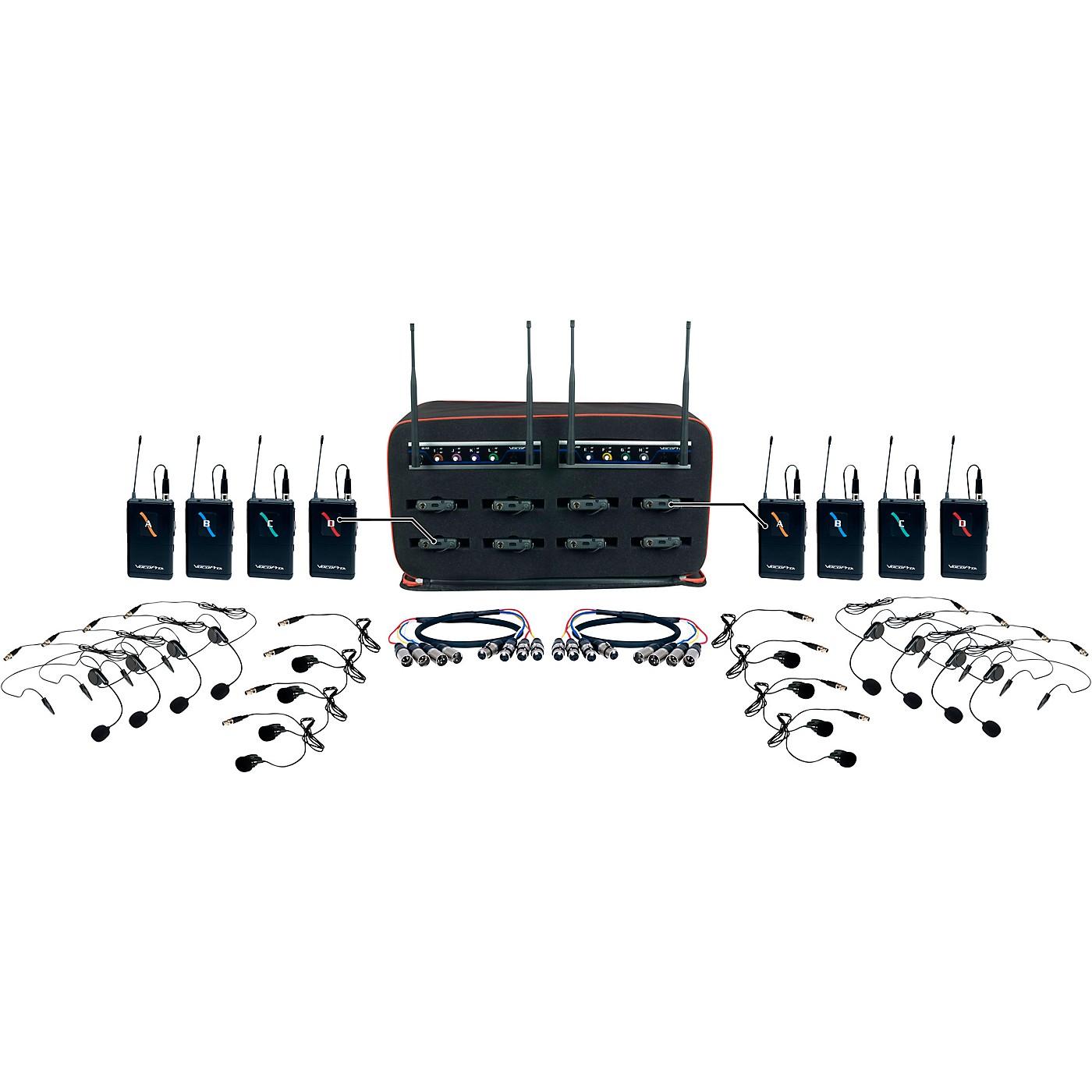 VocoPro 8 Channel Wireless Headset/Lapel Mic-In-Bag Package thumbnail