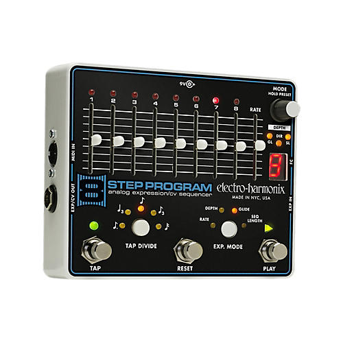 Electro-Harmonix 8-Step Program Analog Expression Sequencer Guitar Effects Pedal thumbnail