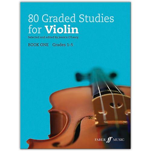 Faber Music LTD 80 Graded Studies for Violin, Book One Grades 1-5 thumbnail